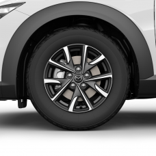 Mazda CX-3 - Lichtmetalen velg 16 inch Diamond Cut - vanaf 2018