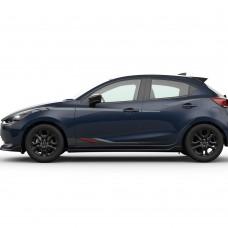 Mazda2 - Striping onderzijde type B - vanaf 2015