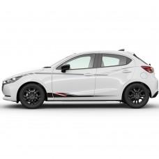 Mazda2 - Striping bovenzijde - vanaf 2015