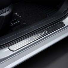 Mazda2 - Dorpel beschermers  - vanaf 2015